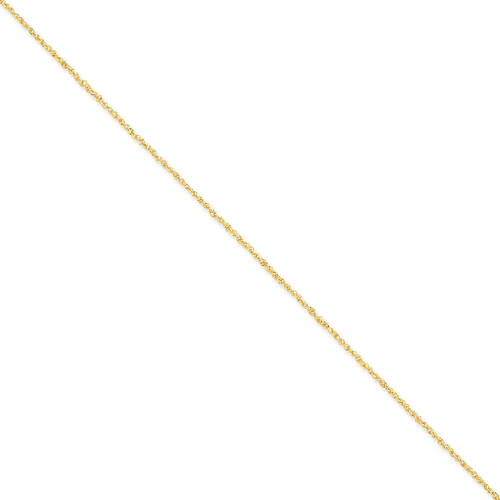 1.7mm Ropa Chain 14 Inch 14k Gold RPA028-14