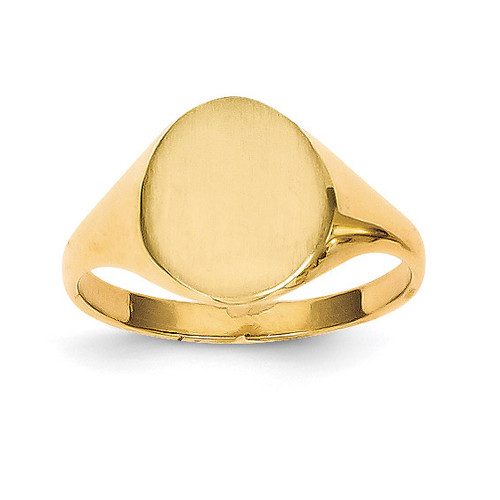 Signet Ring 14k Gold RS100