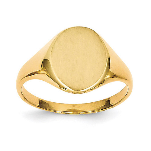 Signet Ring 14k Gold RS101