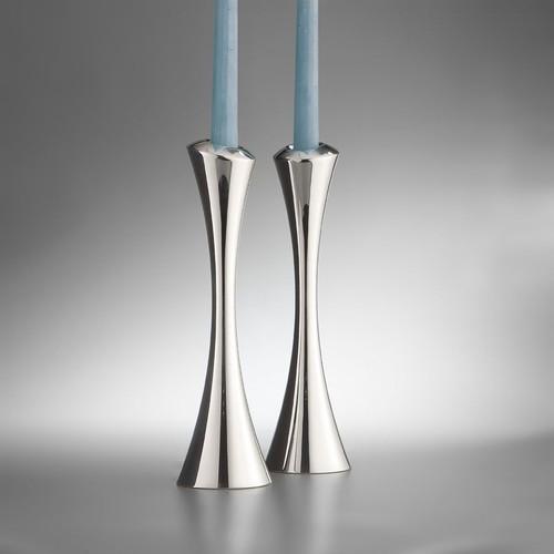 "Nambe Aquila Candlesticks 10"" H (Pair)"