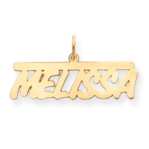 0.013 Gauge Polished Nameplate 14k Gold XNA78Y