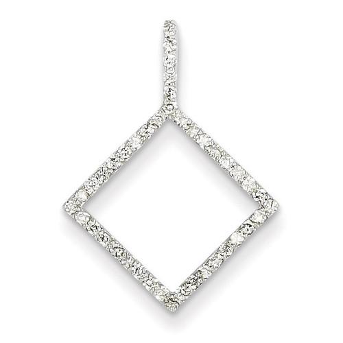 Diamond Chain Slide 14k White Gold XP2987AA