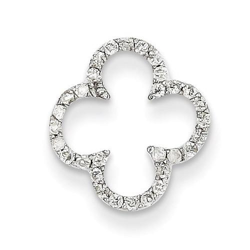 Diamond Chain Slide 14k White Gold XP3114AA