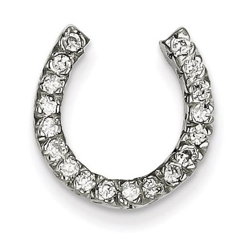 Diamond chain slide 14k White Gold XP643AA