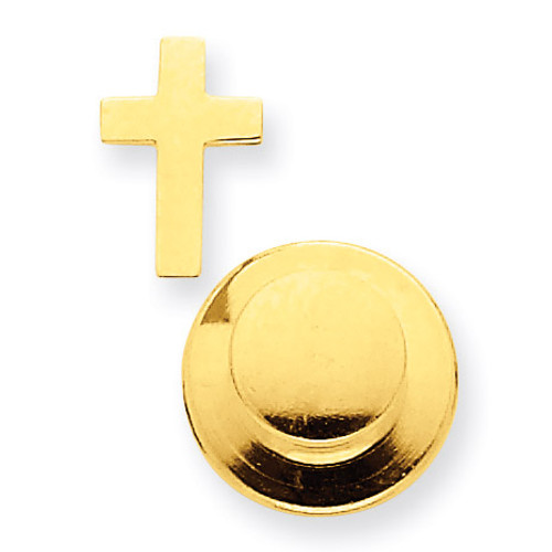Cross Tie Tac 14k Gold XR460