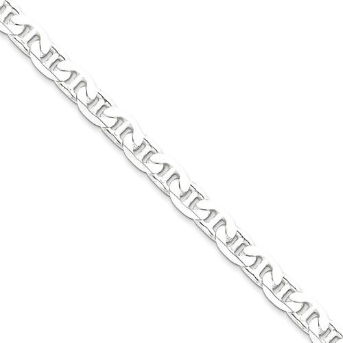 20 Inch 7mm Anchor Chain Sterling Silver QAN200-20