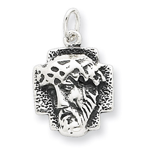 Ecce Homo Medal Antiqued Sterling Silver QC4380