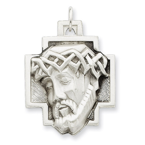 Ecce Homo Medal Sterling Silver QC448