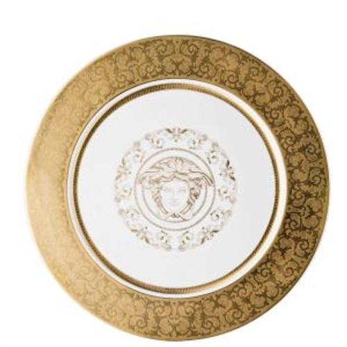 Versace Medusa Gala Gold A.D. Saucer 5 Inch
