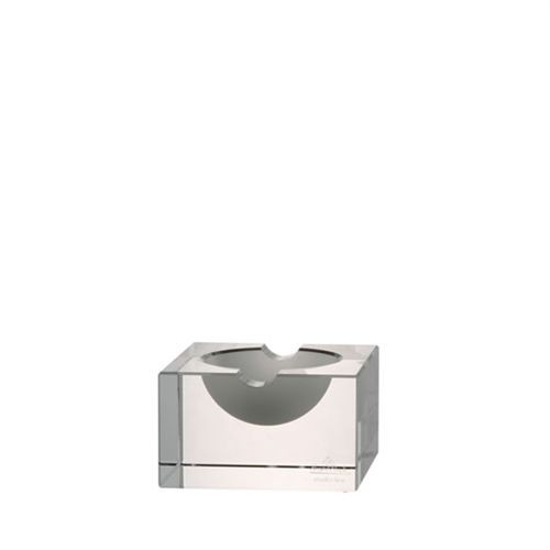 Rosenthal Block Glas Ashtray 4 inch - Clear