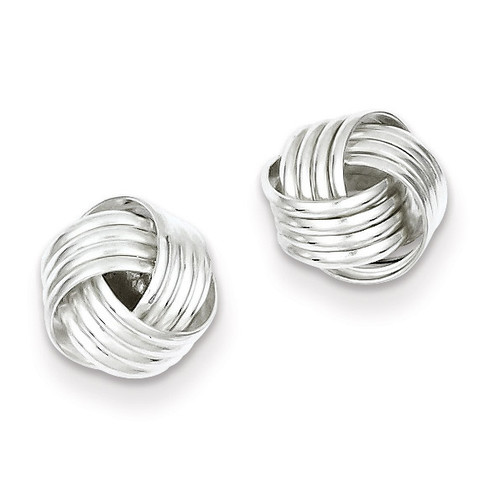 Love Knot Earrings Sterling Silver QE6837