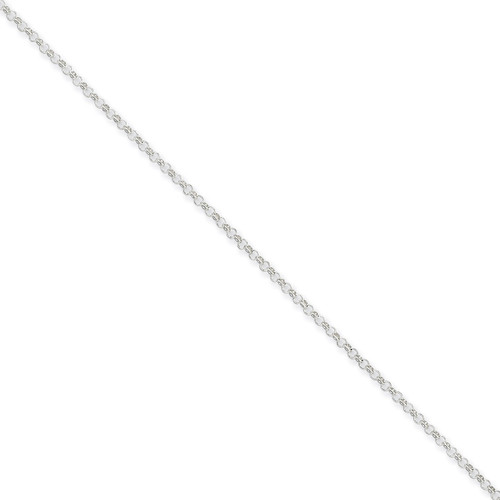 20 Inch 2mm Rolo Chain Sterling Silver QFC104-20