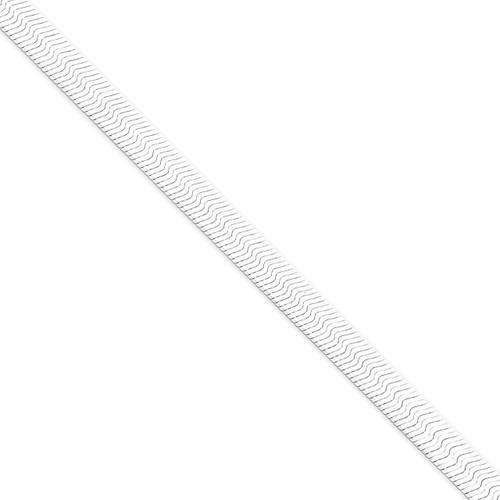 24 Inch 7mm Magic Herringbone Chain Sterling Silver QHB080-24