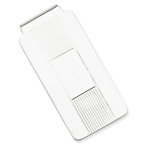 Money Clip Sterling Silver QQ32