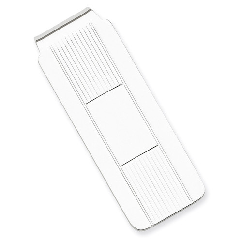 Money Clip Sterling Silver QQ33