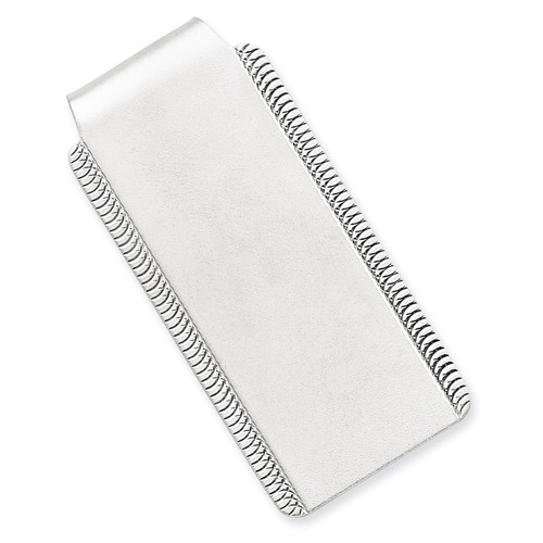 Money Clip Sterling Silver QQ38