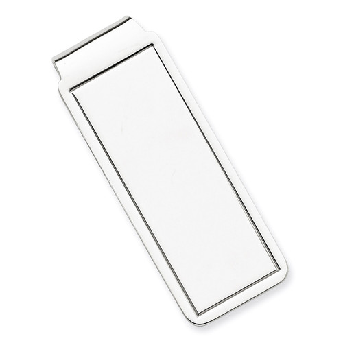 Money Clip Sterling Silver QQ40