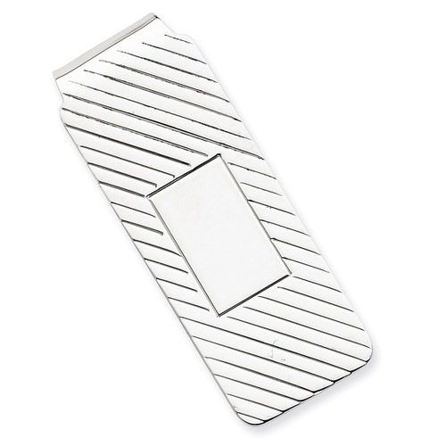 Money Clip Sterling Silver QQ41