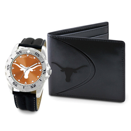 University of Texas Watch & Wallet Set Men's GC4659