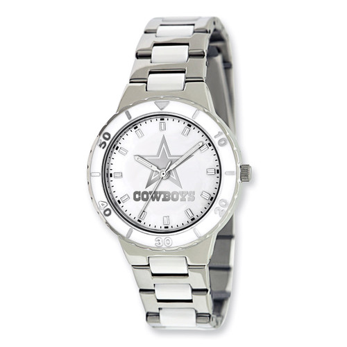 Dallas Cowboys Mother of Pearl Watch Ladies XWL751