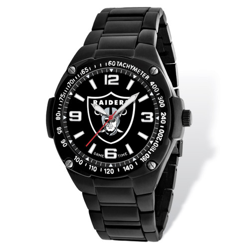 Oakland Raiders Gladiator Watch Men's XWM1955