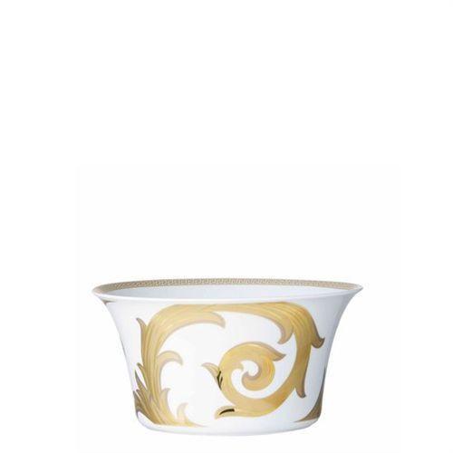 Versace Arabesque Gold Open Vegetable 56 ounce 8 inch