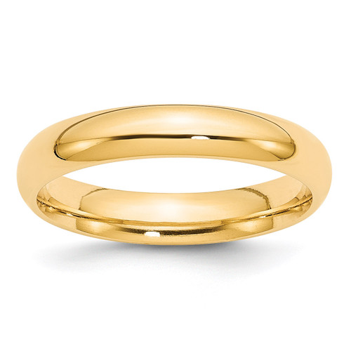 4mm Comfort-Fit Band 14k Gold Engravable CF040-10