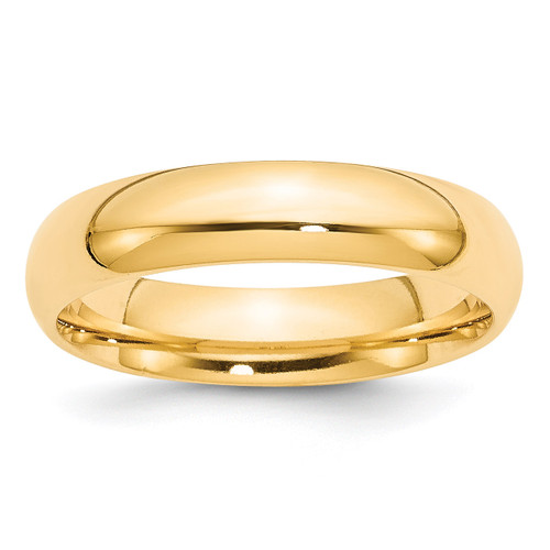5mm Comfort-Fit Band 14k Gold Engravable CF050-10