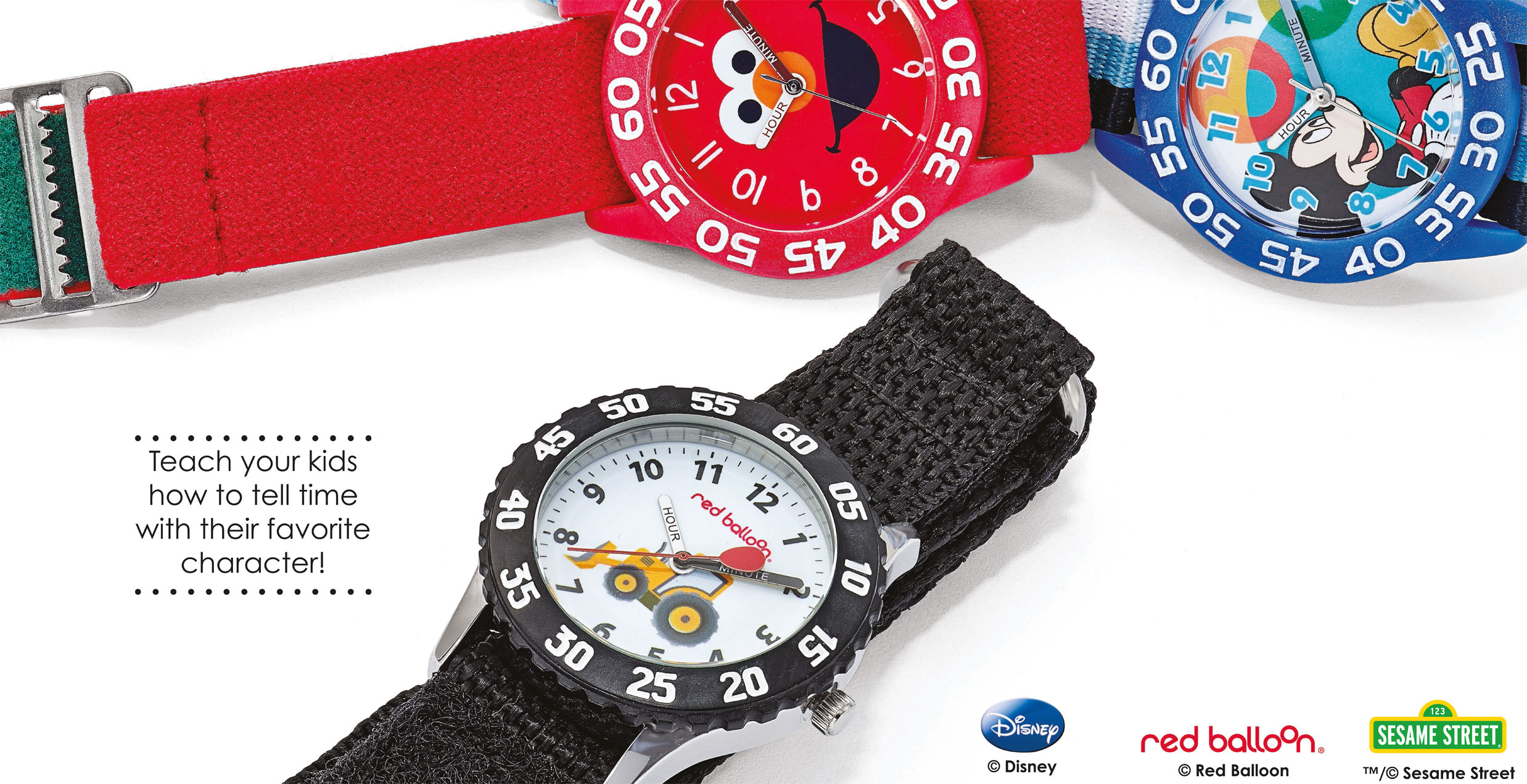 Shop for Disney and Sesame Street Licensed Watches