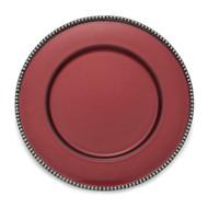 Arte Italica Perla Red Charger MPN: PER1100R