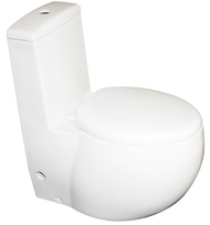 Euroto Dual Flush Round Luxury Toilets