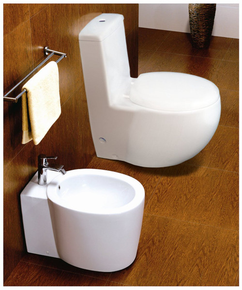 Euroto Dual Flush Round Luxury Toilets Background