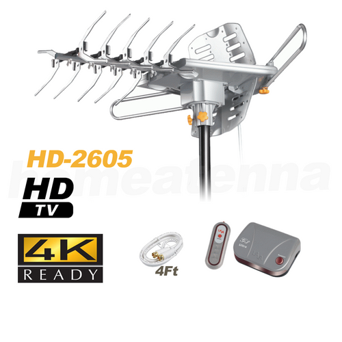 LAVA HD2605 4K Ultra Remote Controlled HD TV Antenna with G3 Control Box