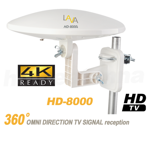 4k Omnidirectional TV Antenna OmniPro HD-8000 360 Degree