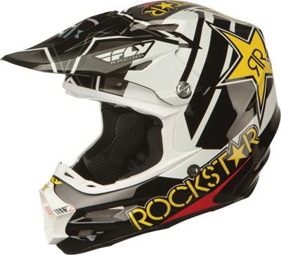 2016 Fly Racing F2 Carbon Rockstar Helmet