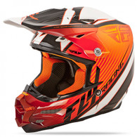 2016 Fly Racing F2 Carbon Fastback Helmet Orange/Black/White
