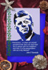 John F Kennedy Christmas cards pack of 8