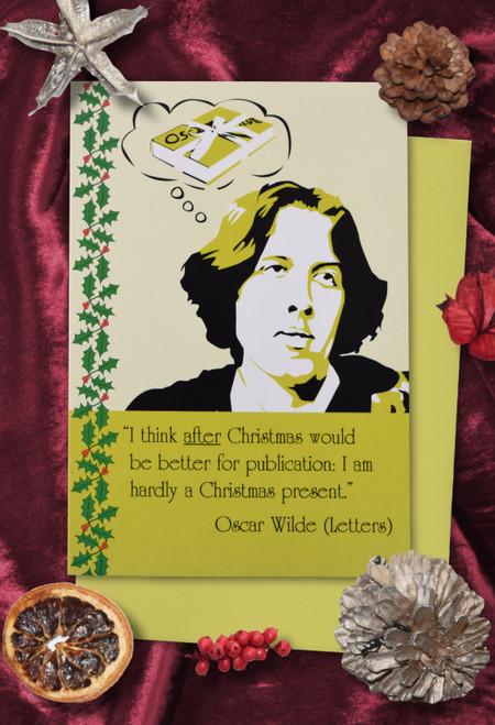 Oscar Wilde Christmas cards pack of 8