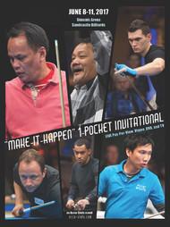 Francisco Bustamante vs. Efren Reyes* (DVD) | 2017 One Pocket Invitational