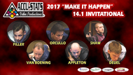 2017 Straight Pool Invitational Complete Set (DVD)*