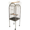Lazy Bones Open Top Parrot Cage in Antique