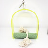 Sandy Arch Acrylic Swing Toy - SNail Trimming Arch Swing Parrot Perch - Smallmall