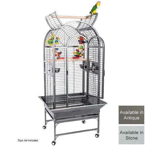 Ecuador Top Opening Parrot Cage in Antique