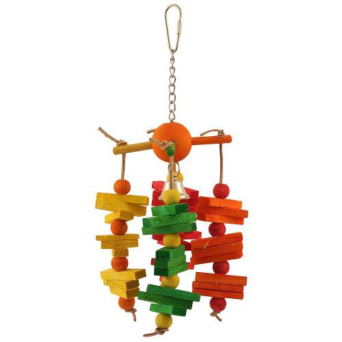 Carousel Chew Parrot Toy - Medium