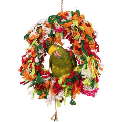 Funtime Hanging Parrot Toy