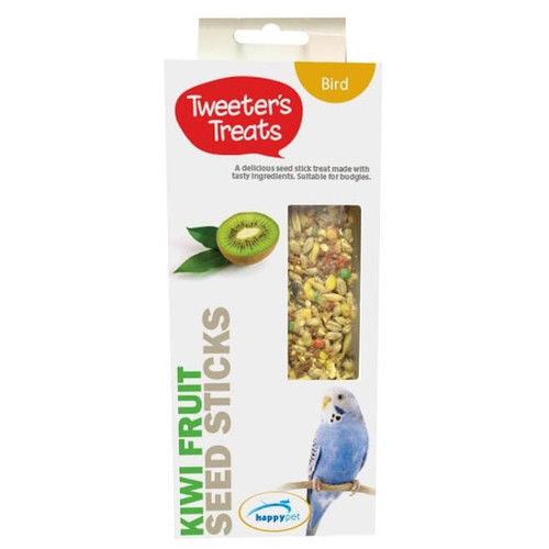 Tweeter's Treats Seed Sticks for Budgies - Kiwi