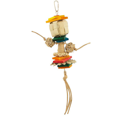 Calypso Party Stack Parrot Toy