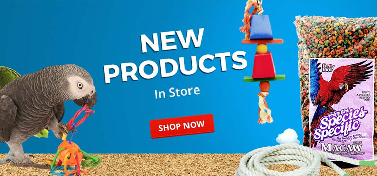 New Parrot Food, Toys, Accessories & Supplies