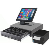 """Commercial POS System Touchscreen Professional 15"""" Yuno Aures"""