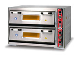 Deaken Commercial Pizza Oven Double Deck 62cm x 62cm